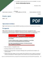 carta de presiones D6M