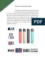 Juul Alternatives - Best Vape Pod Systems 2020