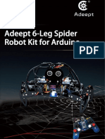 6-Leg Spider Robot Kit Guidebook