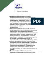 GLOSARIO FARMACEUTICO.