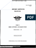 ICAO- Airport Services Manual (DOC9137) Part 3 Bird Control