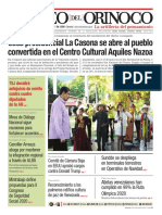 Edición Impresa Correo del Orinoco Nº 3.646 Sábado 14 de diciembre de 2019