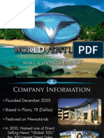 World Ventures Program