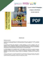 Segundo Semestre - Cuarta Unidad Pedagógica - Lengua y Literatura (7 - 9)