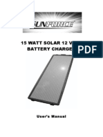 Sunforce 50032 15 Watt Solar Charger