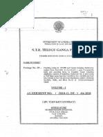 Agreement TGP - II LINING WORK