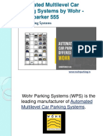 Automated Multilevel Car Parking Systems by Wohr Combiparker 555