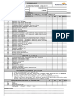 27. Check List Volquete
