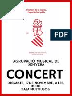 Cartell concert novembre 2