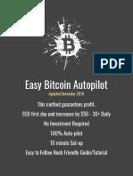 Bitcoin Autopilot - 30$ daily no effort