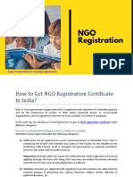 How to Get NGO Registration Certificate in India