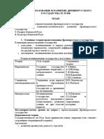 Лекция 2.2 Образование и развитие Древнерусского государства IX - XI вв.