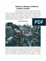 An Introduction to Buying Corktown Condos Toronto
