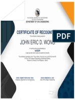 Certificate of Participation RIGID