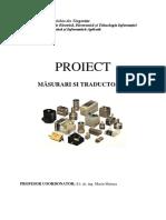Proiect Masuri Traductoare