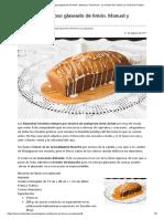 Bizcocho esponjoso glaseado de limón. Manual y Thermomix - La Cocina de Frabisa La Cocina de Frabisa.pdf