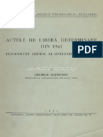 george sofronie acte de determinare din 1918 fundament al unitatii.pdf