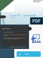 Cours 2 Marché