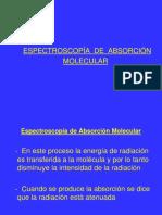 9-.Espectroscopía de Absorción Molecular P-2019