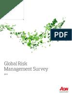 2019 Aon Global Risk Management Survey Report