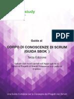 Scrumstudy Sbok Guide 3rd Edition Italian