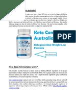 Keto Complex Australia | Keto Complex Diet