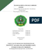 MAKALAH SIPS (AUTOMATED TELLER MACHINE & CARDLESS SYSTEM).docx