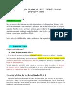 EXPERIENCIA DE UNA PERSONA SIN CRISTO Y DESPUES DE HABER CONOCIDO A CRISTO.docx