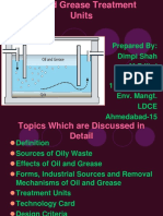 Seminar on Oil and Grease Removal Technologies
