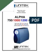 Manual Alpha Ps