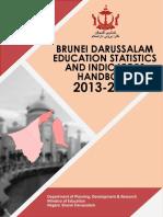 Brunei Darussalam Education Statistics and Indicators Handbook 2017