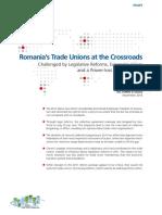 Romania s TradeUnions