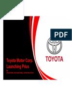 Toyota Motor Corp - Launching Prius - Final