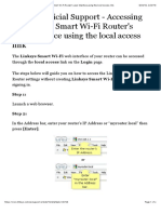 Linksys Official Support - Accessing the Linksys Smart Wi-Fi Router's user interface using the local access link