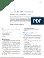 Cancers du côlon en occlusion.pdf