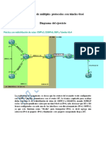 Integración de múltiples protocolos con túneles 6to4