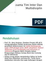 12. Kerjasama Tim Inter Dan Multidisiplin