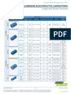 157 PUM-SI Series 150 µF 400 V Electrolytic Capacitor 5000 hours @ Snap-in
