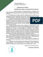 Comunicado Arzobispado de Mendoza