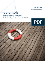 Fitch Colombia Insurance Report - 2019-11-12
