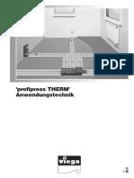 Profipress Therm - manual
