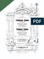 Technische Studien, S.146 (Liszt, Franz) vol.7