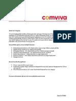 comviva - Java Developer