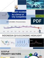 2019-11-18 - Smart Economy as a Driver of City Competitiveness (Arya Damar)