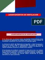 24. LEVANTAMIENTOS DE VENTILACION