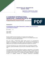 Invisibilizacion de la Niña.Ana-Maria-Fernandez