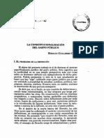 La constitucionalización del gasto publico - Corti Horacio Guillermo