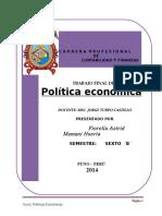 POLITICA ECONOMICA TEXTO LISTO Y TERMINADO.doc