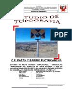 ESTUDIO TOPOGRAFICO PATAN 2019