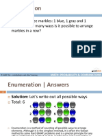 Math Flashcards Combinations Probability